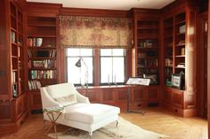 I want these book shelves.