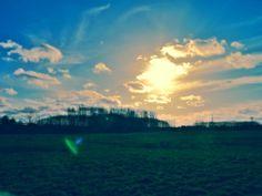 Blauer Himmel, Sonne scheint - was gibts besseres? #sun