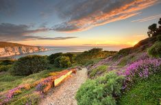 The Isle of Wight, pictured, has been awarded Biosphere Reserve status by Unesco. Slow Travel, Travel News, Ile De Wight, Sustainable Tourism, Kingdom Of Great Britain, Holiday Destinations, Travel Destinations, Van Life, Garden Bridge