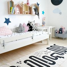 Absolutely in love with this space now.  A little bit of inspiration from our home.  Tap the picture for product info and find them all @minideco.co.uk  #minideco #kidsdecor #kidsdesign #kidsroom #childrensroom #designforkids #toys #nursery #nurserydecor #childsroom #nurseryinspo #children
