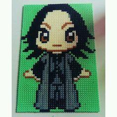 Severus Snape (Alan Rickman) - Harry Potter perler beads