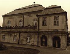 Dawna synagoga żydowska we Włodawie; obecnie muzeum Pojezierza Łęczyńsko-Włodawskiego we Włodawie