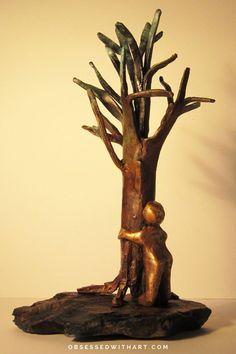 Bozena is a figurative sculptor whose work focuses on the complexity and beauty of the human form. Her sculptures are intended to demonstrate the depth and the foibles of the human endeavour… Stone Sculpture, Bronze, Kids Playing, Buy Art, Saatchi Art, Sculpting, Original Art, Contemporary Art Prints, Nature Tree