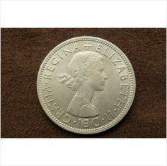 1956 Elisabeth II Half Crown on eBid United Kingdom