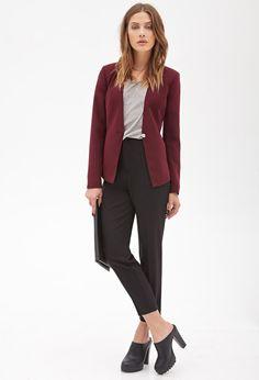 Tailored Woven Blazer | Forever 21 Canada