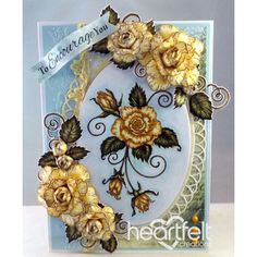 Gallery | Encouraging Yellow Blushing Roses - Heartfelt Creations