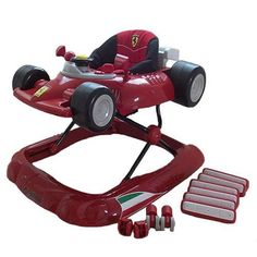 If you're looking for the absolutely coolest, high end #baby walker for your child, look no further. The #Ferrari f1 baby walker is the best of the best! in true ...
