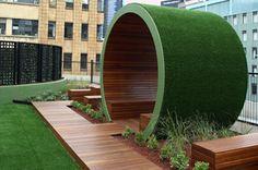Ian Barker Garden Design - Garden and Landscape Design Melbourne Origin Rooftop Terrace