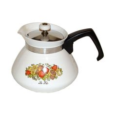 Corningware Spice of Life 6 Cup Teapot w/Lid P104 $14.95
