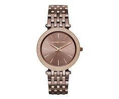 Reloj para mujer Agnes, oro rosa - Ø3,9 cm