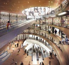 In Progress: Library of Birmingham / Mecanoo architecten