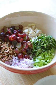 Basil & Pecan Chicken Salad | Lauren's Latest