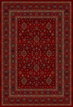 - Dywan Wełniany z orientalnym wzorem