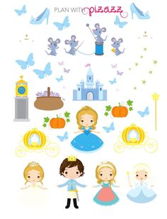 Disney CINDERELLA Inspired Themed Planner by PlanwithPizazz