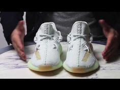 34e8d75d Adidas Yeezy Boost 350 V2 Hyperspace Review + How to KAWS Style Yeezy Lace  مراجعة سنيكرزشيخ