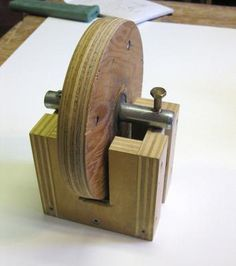 Roger Gallant's strip sander