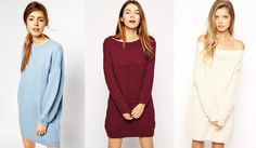Sweater Guide: Fall/Winter Essentials - Sweater Dresses