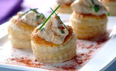 Chicken And Herb Vol-au-vent recipe | Poultry recipes | Whats For Dinner