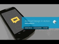 Android Design in Action: Design Hangout No. 1