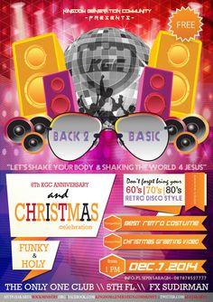 We are Back 2 Basic KGCJakarta Anniversary & Christmas Celebration.