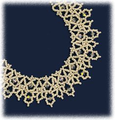 Victorian Lace Necklace Pattern