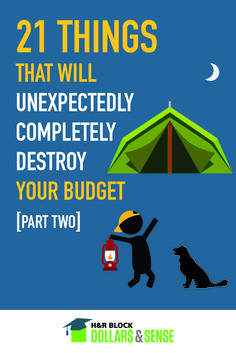 21 Things That Will Unexpectedly Completely Destroy Your Budget - Part 2 #lists #money #education