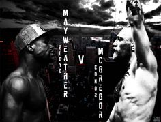 Mayweather vs McGregor - Photoshop created poster by Vardhan Shafi