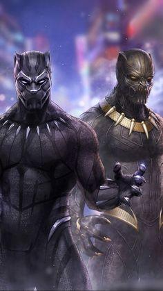 "Black Panther ""Two Kings"" Marvel Dc, Marvel Comics, Marvel Comic Universe, Marvel Films, Marvel Heroes, Marvel Characters, Anime Comics, Black Panther King, Black Panther Marvel"
