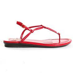 Red Sandals I Love #summer #sandals Halley Sandals - Red Max Studio