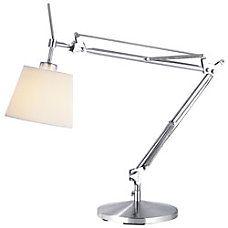 Adesso Architect Desk Lamp Satin SteelNatural