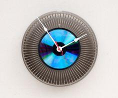 upcycled clocks