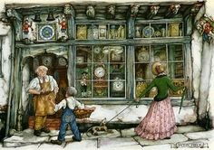 Anton Pieck (1895-1986) - голландский живописец, художник и график. В возрасте 11 лет он выиграл свой первый приз за натюрморт. Писал картины маслом, работал с акварелью,…