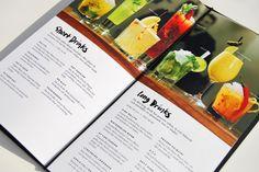 Invito bar menu by Mattias Sahlén, via Behance Restaurant Menu Design, Restaurant Branding, Cafe Restaurant, Restaurant Ideas, Menue Design, Food Design, Design Ideas, Drink Menu, Food And Drink