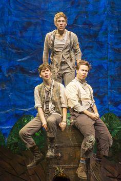 Prentiss (James Crichton), Boy (Bryan Welnicki) and Ted (Nick Lehan).