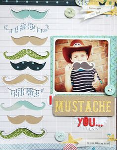 I 'mustache' you by ljbridges at Studio Calico