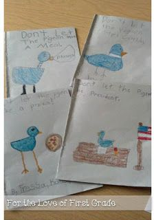 Interactive Writing- Rewrite Don't Let the Pigeon....eat candy, stay up late...
