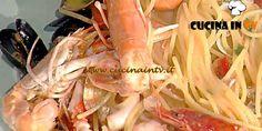 Spaghetti allo scoglio ricetta Pascucci La Prova del Cuoco | Cucina in tv