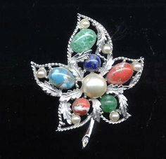 1967 Sara Coventry Fantasy Brooch by TimeWarpJewelry on Etsy, $24.00