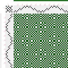 draft image: Figure 117 (b), A Manual of Weave Construction, Ivo Kastanek, 6S, 6T