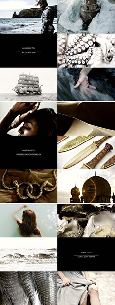 game of thrones + houses [9/9] #asoiaf