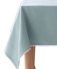 Love this French Perle Ice Blue Tablecloth by Lenox on #zulily! #zulilyfinds