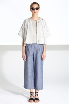 Apiece Apart Spring 2015 Ready-to-Wear - Collection - Gallery - Look 1 - Style.com