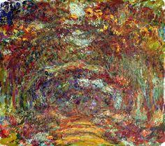 Güllü Yol, Giverny - Monet