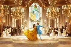 2017 live action beauty and the beast Disney Fan Art, Disney Pixar, Disney Amor, Deco Disney, Arte Disney, Disney Animation, Disney And Dreamworks, Disney Magic, Disney Dream