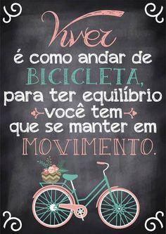 Poster Fofo tipo Lousa - Viver é... - Sabrina Matias