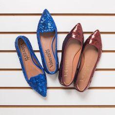 Confere ai as sapatilhas de bico fino da minha colecao Inverno 2016. Lindas elegantes e confortaveis. <3 #valentinaflats #shoes #fashion #loveit #loveshoes #shoeslover #flat #anabela #love #inverno2016