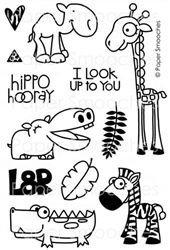 Zoo Crew stamp set by Paper Smooches