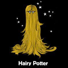 Hary Potter, ilustración, lol
