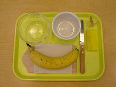 Banana Cutting - MontessoriAlbum