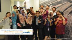 Inhouse Amazing Slide Bank Mandiri, 5-6 Agustus 2015
